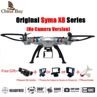 Wholesale Professional Drone Syma X8C X8G X8 Quadcopter G With Gimble RC Helicopter Without Camera Can Carry Gopro Xiaomi yi SJCAM