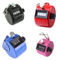 Wholesale Golf Handheld Manual Digit Number Clicker Tally Counter color