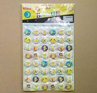 b brooch - Children Poke go Badge Brooch toys set cartoon Pikachu Charmander Jeni turtle Poke Brooch toy B