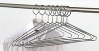 Wholesale Fashion Hot Anti theft Metal Clothes Hanger with Security Hook for Hotel Used mm Thickness