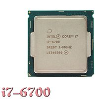 Wholesale Intel Core i7 Processor CPU GHz DDR4 MHZ works on LGA mainboard no need adapter