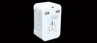 adapter hong kong - Dual USB travel adapter plug socket converter plug converter global Hong Kong Version UK Europe USA