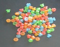 Wholesale 1000Pcs Colourful Tattoo Machine Gun Grommets Nipples T Type For Tattoo Machine Gun Supply