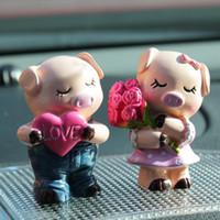 antique nautical items - ChowDon Cute Mini Resin Couple Piggy Model Craft Ornaments Designer Home Decor Items Popular Wedding Gifts