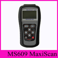 Wholesale 2016 MaxiScan MS609 Autel Code Scanner OBD II OBD Scan Tool Fault Diagnosis Instrument For Vehicle Detection Instrument Code Reader Tester
