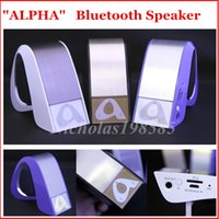 alpha model - ALPHA Creative Model Wireless Bluetooth Speaker Hands free Mic D Stereo Subwoofer Super Bass Sound Loud Speaker VS Pulse New Pill XL Pill