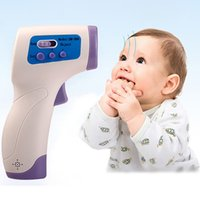 Wholesale New Multifuction Baby Adult Digital Termomete Infrared Forehead Body Thermometer Gun Non contact Temperature Measurement Device