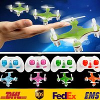 Wholesale Remote Rc Helicopter New Flashing CX10 G Channel Quadcopter Children Adult Airplane Model Toys Color HH T21