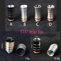 adapter tip size - drip tip adapter e cig size dhl vape drip tips ss drip tip material