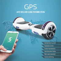 app led - Upgrade Phone APP inch Two Wheels Hoverboards Bluetooth Speaker Self Balance Scooter Electric Skateboard Smart LED Scooter Drop Shipping