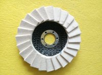 Wholesale made in china low price Wool polishing Wheel Felt Wheel Flap Discs for cars