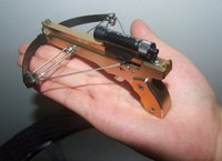 alloys compounds - Top Mini Crossbow Shooting Toy Black Color Made by Aviation Aluminum Alloy