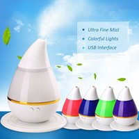 air diffuse - Factory Price Colorful Aroma Diffuser USB Humidifier Air Purifier Atomizer Essential Oil Diffuser Mist Maker Fogger aromatherapy diffuse