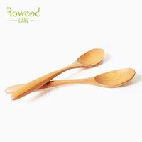 Wholesale main meal Spoon Dessert Spoon Teaspoon sugar spoon Salad spoon Soup spoon Public spoon Teaspoon points Solid wood spoon coffee spoon spoon