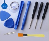 Wholesale 10 in Repair Pry Opening Tools Kit With Point Star Pentalobe Eject Pin Key For APPLE iPhone5 s c G Plus s Gs