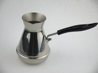 Wholesale YH YHB High quality stainless steel Turkish coffee pot ibrik Coffee brewer goosenck spout kettle coffee brewer coffee tools