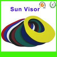 active softball - Advertising Cap Visor folding and simple neoprene sun visor softball visor for Promotion Imprint text Sunshade