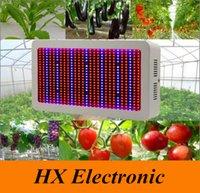 оптовых растения голубые-Цена завода DHL освобождает! Высокое качество 600W Full Spectrum LED Grow Light красный / синий / белый / UV / IR AC85 ~ 265V SMD5730 LED растений Лампы