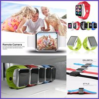 Wholesale 2016 A1 Smart Watch Bluetooth Wearable Waterproof Smart Watches for Iphone Android Smartphone Smartwatch Camera VS DZ09 U8 GT08