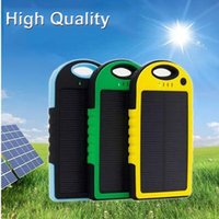 Wholesale Solor charger mah Portable Waterproof Solar Power Bank Dual USB Solar Battery Charger for All Phone