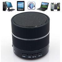 aluminum seal rings - mini wireless speaker S09 LED Light Ring Enhanced speaker Super Bass Metal Mini BeatBox Hi Fi Bluetooth speaker for Q88 a33 tablet