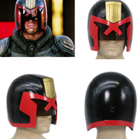 Wholesale XCOSER Judge Dredd Helmet Full Head Dredd COSplay Racing Mask Halloween Prop