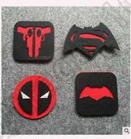 batman drink - 4 design LJJK128 Insulation Pads Deadpool Superman Batman War Cup Drinks Holder Mat Tableware Placemat useful