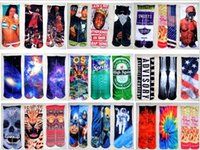 Wholesale 3D Socks Star Wars Kids Boys Girls Hip Hop Socks Cotton Skateboard Socks Printed Gun emoji tiger Skull Socks Unisex Socks MC0061