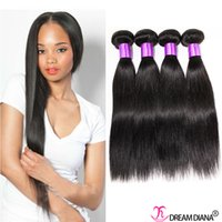 best grade mink - Best A Grade Malaysian Virgin Straight Hair Extensions Human Hair Weave Mink Hair Bundles Double Weft Natural Color4Pcs