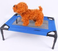 Wholesale Washable Beach Pet Bed Portable Large Dog Bed Breathable Travel Cat Bed