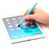 10pcs / lot gros pas cher cristal swarovski stylo stylet capacitif tactile pour téléphone mobile pour iphone capacitif tablette à écran