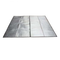 Wholesale 150 cm cm Aluminum Foil Mat Picnic Mat Outdoor Waterproof Insulating Moisture proof pads Camping Mat Blanket