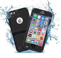 Wholesale EXTREME Underwater Waterproof Dropproof Dirtproof Shockproof Full Sealed cell phone Case with kickstand cover for iphone s plus s plus
