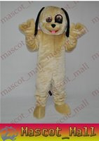 apparel ca - MALL1401 Professional Custom Black eye dog Mascot Cartoon Costume For Adults Fancy Dress Halloween Party Adult Walking Apparel Adult Size Ca