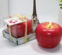 apple fruit type - Apple candles type for wedding favors christmas favors personalized wedding favors and gifts for guests