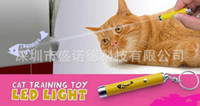animation cats - Creative and Funny Pet Cat Toys LED Laser Pointer light Pen With Bright Animation Mouse