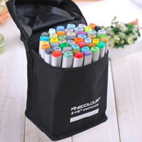 Wholesale 24 color marker set standard pen paint drawing finecolor copic pen markers hot sale
