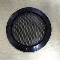 Wholesale Quality black car subwoofer speaker decoration ring hifi audio speaker grille car speaker grilles