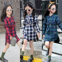 baby plaid shorts - Hug Me Baby Girls Lace shirts Childrens New Autumn Winter Long Sleeve Kids Clothing New T Shirts Blouses AA