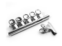 Wholesale Grip Clips Bulldog Clips Letter Clips Silver Metal paper Clip size mm