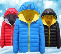 Wholesale Korean color children ultra thin jacket coat Hooded Jacket boy