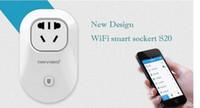 Wholesale Orvibo EU US UK AU Standard Power Socket WiFi Smart Switch Travel Plug Socket Home Automation app for iphone Ipad Android Smartphones