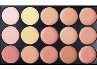 best skin brightening creams - 15 Colors Concealer Profession make up Face Cream Maquiagens Skin Concealer Palette best quality brand new with M logo