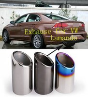 Wholesale 2016 hot sell customized Car Automobiles Exhause exhaust muffler pipe for Volkswagen VW Lamando TSI