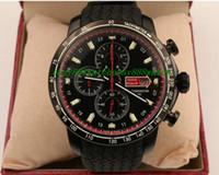 auto stop green - Luxury Watches New style luxury watches men quartz stop watch miglia sport leather band golden wristwatch