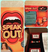 Wholesale Amazing Cards Games for cards Speak out crazy game fast shippinging vvith great quality for chrismas