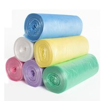 Wholesale Brand New Material Garbage Bag Clean up Bag Pick Up Waste Poop Bag Rubbish Bag Refills Home Supply