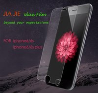 Wholesale Tempered Glass Screen Protector For iPhone S Plus mm D H Explosion proof without package