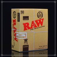 cigarette rolling machine - 50 booklets box cigarette Slim rolling paper machine hemp king size mm mm leaves booklet smoking papers have the starter sheet