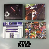 animations purse holder - New styles star wars wallet purse Darth Vader trooper Storm soldiers wallet for adult and big Children cartoon Animation wallet C186
